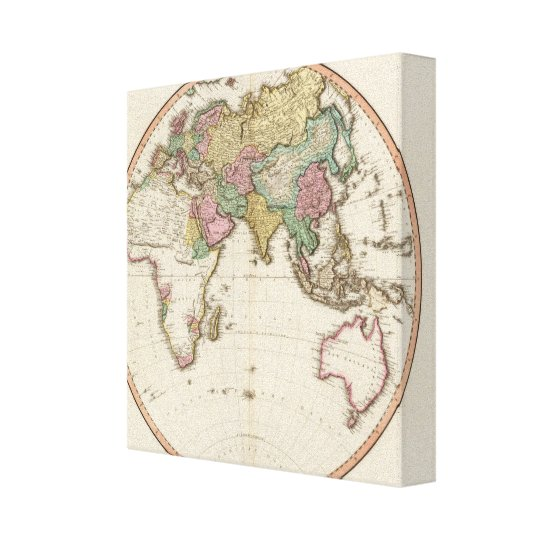 Eastern Hemisphere 14 Canvas Print