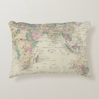 Eastern Hemisphere 14 Accent Pillow