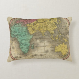 Eastern Hemisphere 15 Accent Pillow
