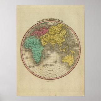 Eastern Hemisphere 15 Print