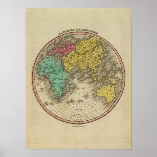 Eastern Hemisphere 15 Poster