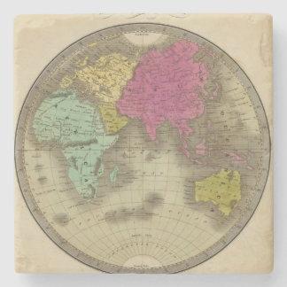 Eastern Hemisphere 15 Stone Coaster