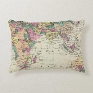 Eastern Hemisphere 2 Accent Pillow