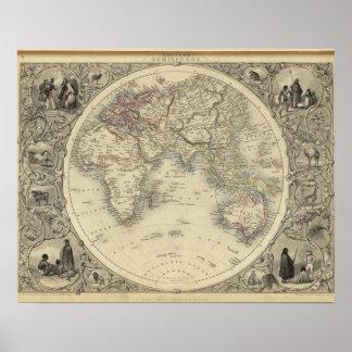 Eastern Hemisphere 2 Poster