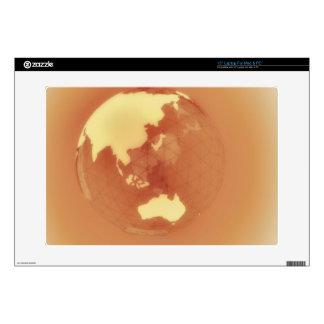 Eastern Hemisphere 3 Decals For Laptops