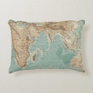 Eastern Hemisphere 3 Decorative Pillow