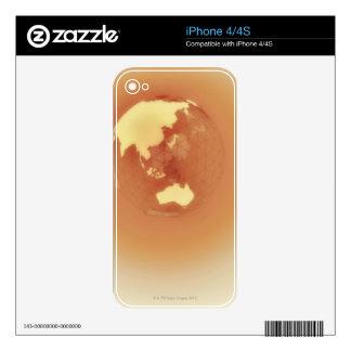 Eastern Hemisphere 3 iPhone 4 Decal