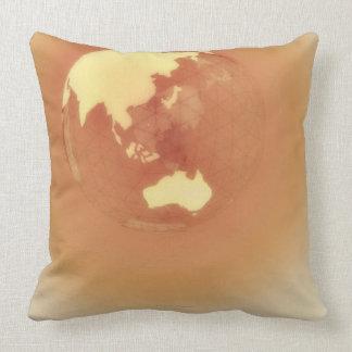 Eastern Hemisphere 3 Throw Pillow