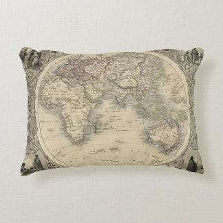 Eastern Hemisphere 4 2 Accent Pillow