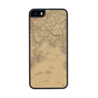Eastern Hemisphere 4 2 Wood Phone Case For iPhone SE/5/5s