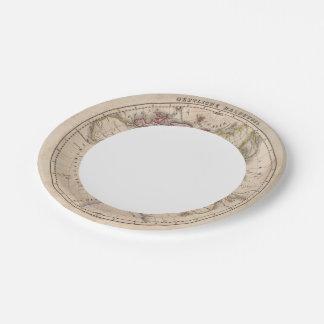 Eastern Hemisphere 4 Paper Plate