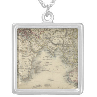 Eastern Hemisphere 4 Silver Plated Necklace