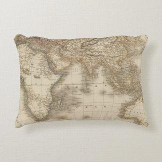 Eastern Hemisphere 5 Accent Pillow