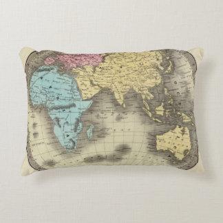 Eastern Hemisphere 9 Accent Pillow