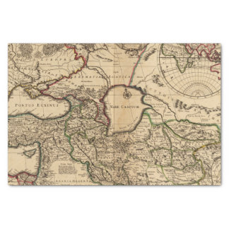 "Eastern Hemisphere and Rome 10"" X 15"" Tissue Paper"