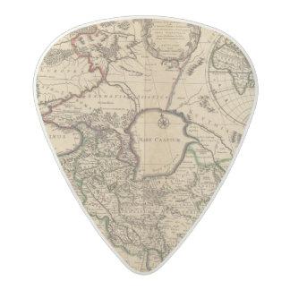 Eastern Hemisphere and Rome Acetal Guitar Pick