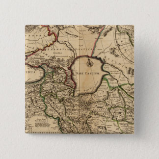 Eastern Hemisphere and Rome Pinback Button