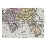 Eastern Hemisphere Atlas Map Card