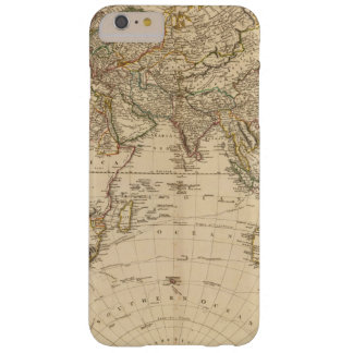 Eastern Hemisphere Circular Map Barely There iPhone 6 Plus Case
