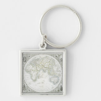 Eastern Hemisphere, from a Series of World Maps pu Keychain