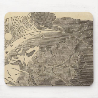 Eastern Hemisphere Map by Goodrich Mouse Pad