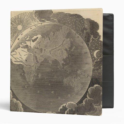Eastern Hemisphere Map by Goodrich Vinyl Binders