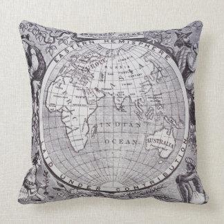 Eastern Hemisphere Pillow