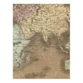 Eastern Hemisphere Postcard