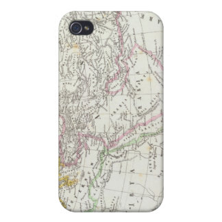 Eastern Hemisphere World Lithographed Map Covers For iPhone 4