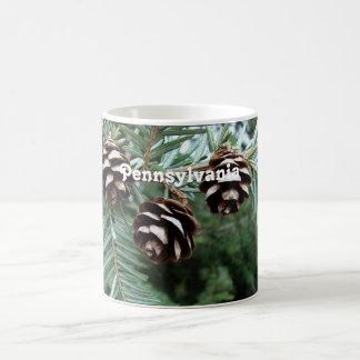 Eastern Hemlock Coffee Mugs