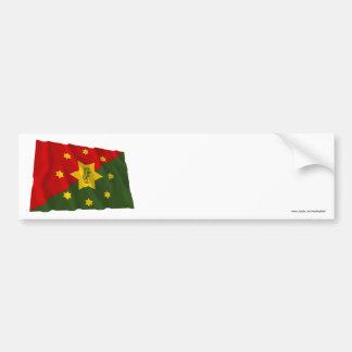 Eastern Highlands Province Waving Flag Bumper Sticker