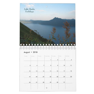 Eastern Hokkaido 2018 Calendar
