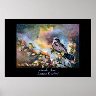 Eastern Kingbird print