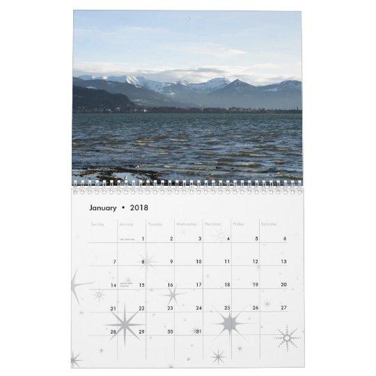 Eastern Lake Contance - Östlicher Bodensee Calendar