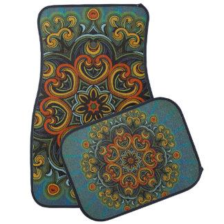 Eastern Mandala Car Mat