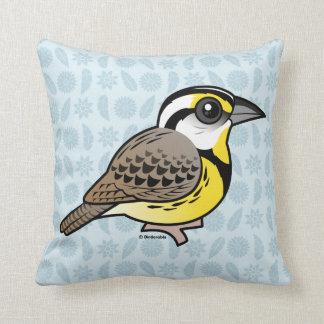 Eastern Meadowlark Pillows