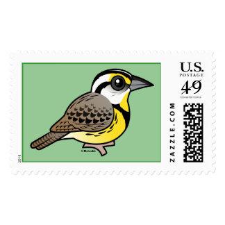 Eastern Meadowlark Postage Stamp