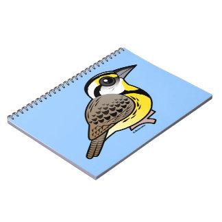 Eastern Meadowlark Spiral Note Books