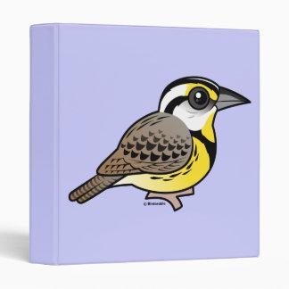 Eastern Meadowlark Vinyl Binder