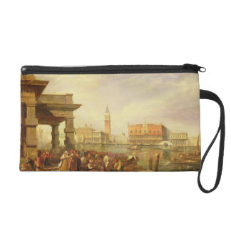 Eastern Merchants at the Entrance to the Grand Can Wristlet Purse