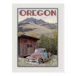 Eastern Oregon Vintage Truck Postcard
