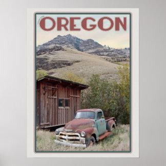 Eastern Oregon Vintage Truck Poster