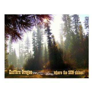 Eastern Oregon - Where the Sun Shines Postcard