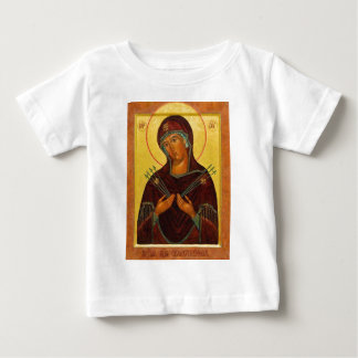 Eastern Orthodox Iconography the mother Baby T-Shirt