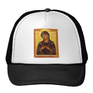 Eastern Orthodox Iconography the mother Trucker Hat