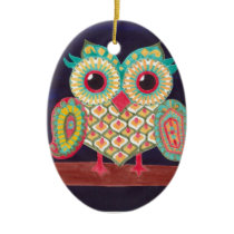 Eastern Owl Ornament