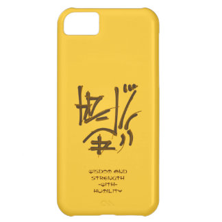 Eastern Pictogram, Strength, Humility wise sayings iPhone 5C Cover