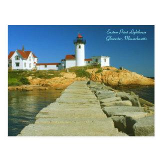Eastern Point Lighthouse Gloucester MA Post Card