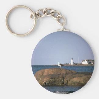 Eastern Point lighthouse, Gloucester, Massachusett Key Chains