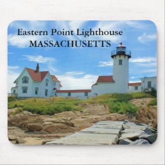 Eastern Point Lighthouse, Massachusetts Mousepad